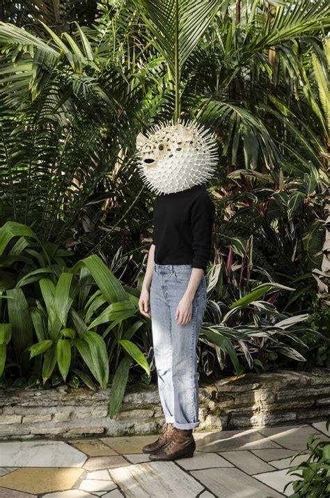 papier mache masks crafted  liz sexton bring animals