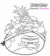 Angry Birds Coloring Pages Rio Printable Bird Colouring Printables Colors Characters Info Tegninger December sketch template