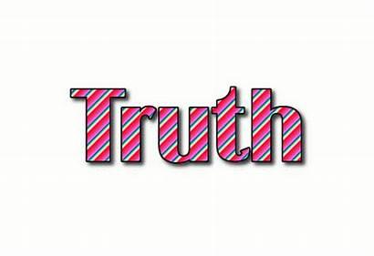 Truth Logos Text Flamingtext
