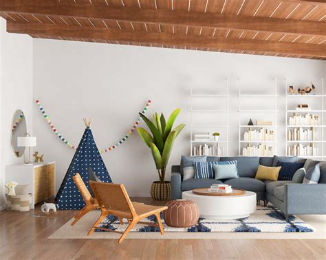 Living Room Area Design by 5 Tips For Designing A Kid Friendly Living Room Modsy