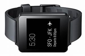 Lg Watch In Black W100  Android Wear Smart Watch