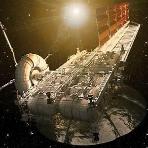 3d model asteroid mining platform
