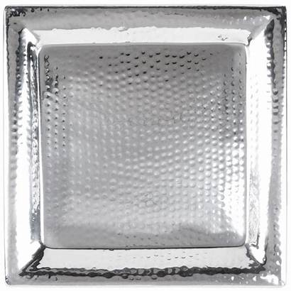 Hammered Tray Square Metalcraft American Stainless Steel