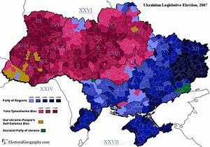 Ukraine. Legislative Election, 2007 | Electoral Geography 2.0