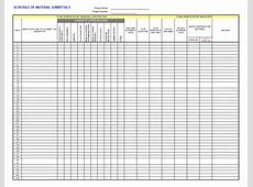 Submittal Log Template job stuff Pinterest Template
