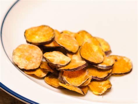 comment faire des chips de pomme de terre au four