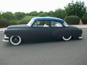 1954 Chevrolet 2 Door Sedan Air Bagged Mild Custom Chevy 1953 1952 1951 1950
