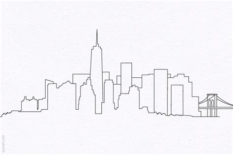Information About City Skyline Drawing Easy Yousense Info