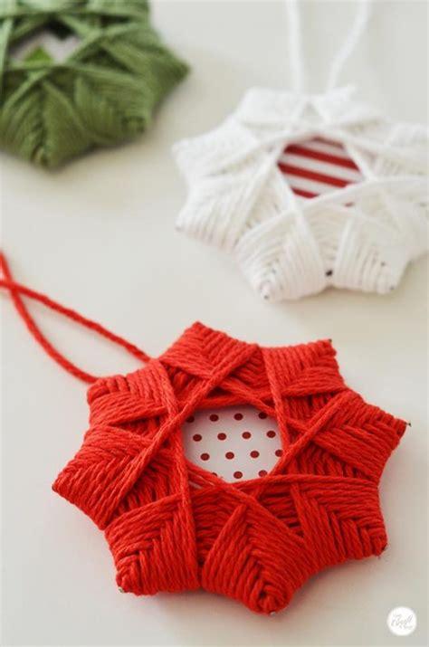 yarn wrapped tree ornaments 9 diy yarn ornaments to adorn your tree make 7363