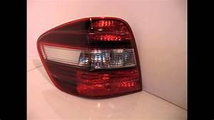 2011 Mercedes Ml350 Tail Light    Rear Lamp Id A1649060700