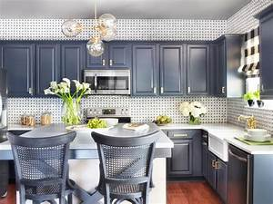 patterned backsplash ideas gray kitchen cabinets modern With kitchen cabinet trends 2018 combined with metal wall flower art