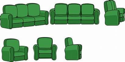 Living Clipart Chair Furniture Sofa Views Area