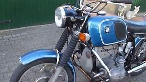 Bmw R75  5 Blau Laufend    Running