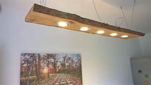 Lampen Selber Bauen Zubehör : details zu led decken holz lampe rustikal 120cm 5x 7w massivholz neu l rche shabby chic ~ Sanjose-hotels-ca.com Haus und Dekorationen