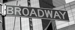 Broadway Sign Photograph by La Dolce Vita