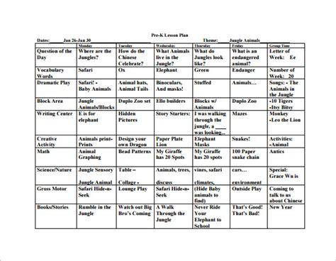 pre k lesson plan template 20 preschool lesson plan templates doc pdf excel free premium templates