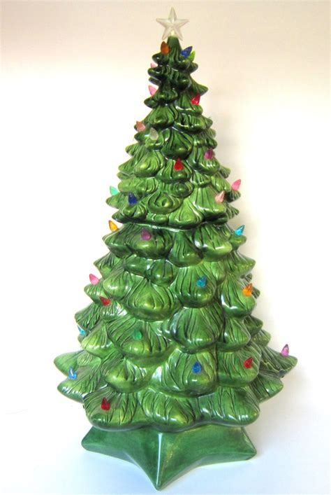 79 best ceramic christmas trees images on pinterest