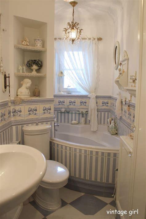 Badezimmer Deko Alt by Romantisches Badezimmer Im Shabby Chic Stil Vintage