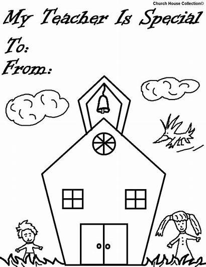 Teacher Coloring Pages Appreciation Special Ever Printable