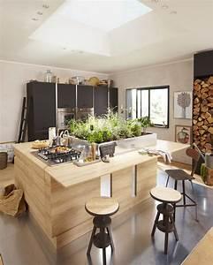 Ilot Central Cuisine Leroy Merlin : cuisines delinia meubles fonctionnels et tendances leroy merlin ~ Melissatoandfro.com Idées de Décoration