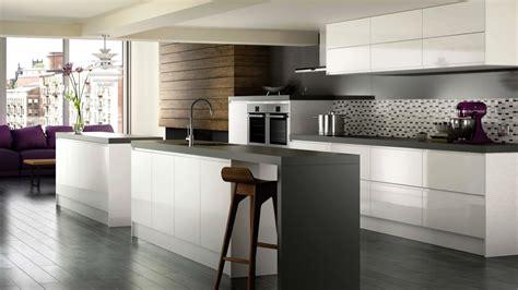 High Gloss White Modern Kitchen Cabinets  Brands, Options
