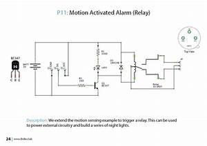 Motion Activated Relay Circuit - B1p11 - Bnbe