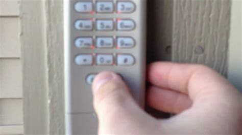 hd liftmaster garage door opener keypad program youtube