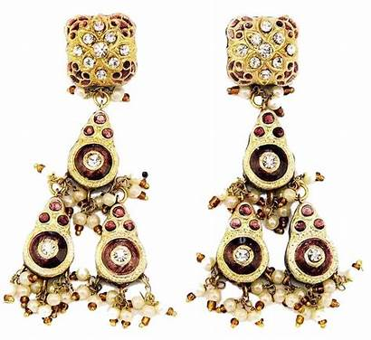 Earrings Jewellery Gold Indian Jewelry Lac India