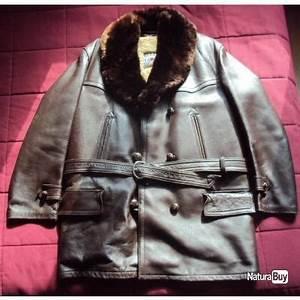Veste Pour Froid Extreme : ancienne veste canadienne en cuir doubl mouton pour grand froid vestes et blousons de chasse ~ Melissatoandfro.com Idées de Décoration