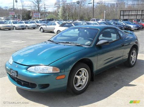 Green Mitsubishi Eclipse by 1996 Monarch Green Pearl Mitsubishi Eclipse Rs Coupe