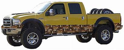 Truck Camo Wrap Camouflage Package Hunting Vehicle