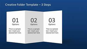 Creative Folder Template Layout For Powerpoint