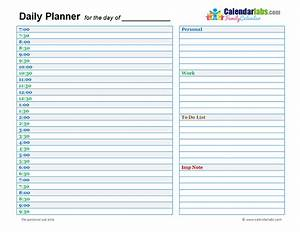 day planner template cyberuse With day planner online template