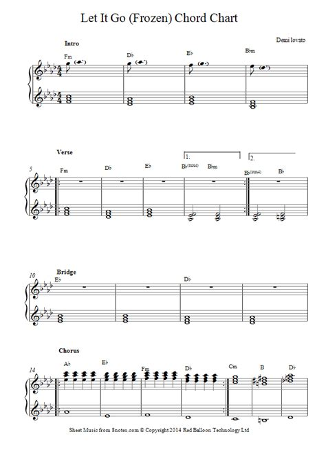 Let it go arranged for easy piano. piano let it go sheet music - 8notes.com