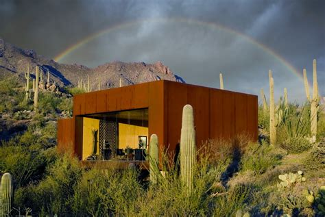 desert nomad house  arizona  rick joy architects
