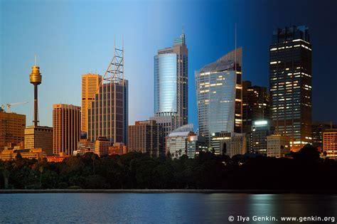 sydney city  night  sunset print  fine art