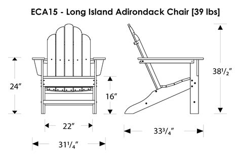 Polywood Long Island Adirondack Chair  Best Sellers