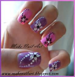 Make nail art easy and beautiful flower tutorial