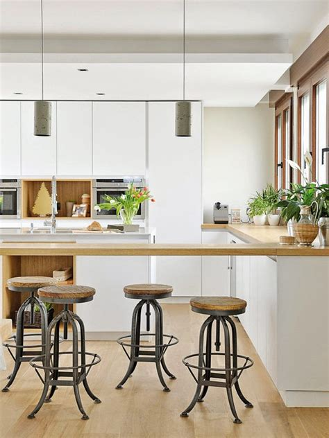 la meilleure cuisine cuisine contemporaine blanc bois tabouret atelier
