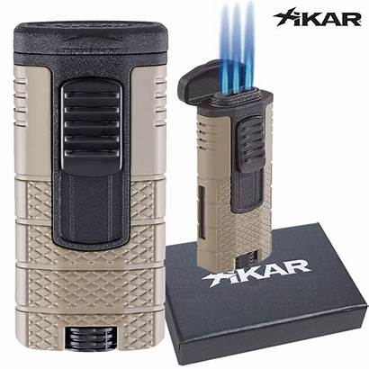 Lighter Torch Xikar Tactical Triple Lighters Tan
