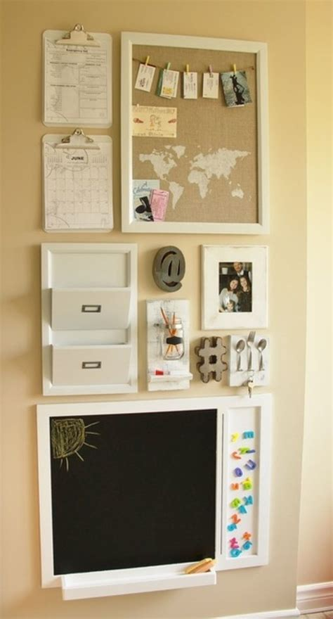 Kitchen Wall Organization Ideas by 10 Diy Family Command Center Ideas Family Command Center