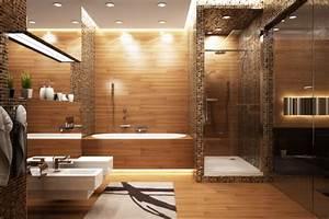 roland coster salle de bains baignoire et douche With carrelage adhesif salle de bain avec eclairage led douche