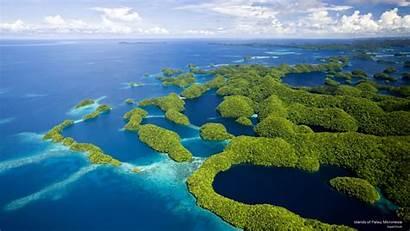 Palau Micronesia Islands Rock Aerial Eco Travel