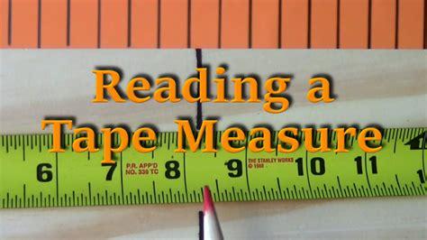 Reading A Tape Measure  Tutorials Ep 5 Doovi