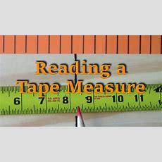 Reading A Tape Measure  Tutorials Ep 5 Youtube