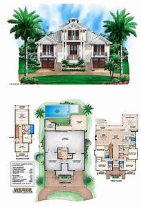 3, Story, Beach, House, Design, 2021
