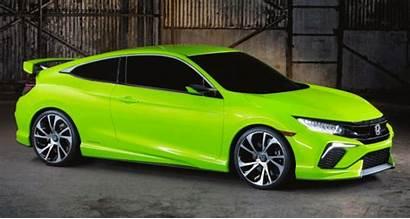 Honda Civic Coupe Gen Concept Generation Incredible