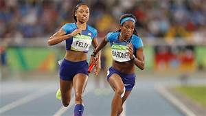 U S  Women U0026 39 S Track Team Qualifies For 4x100