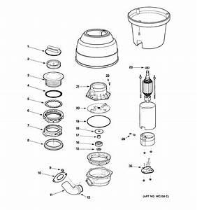 Ge Disposer Parts