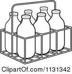 Milk bottle clipart - Clipground